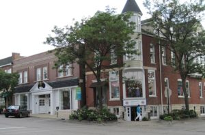Downtown Hinsdale, IL
